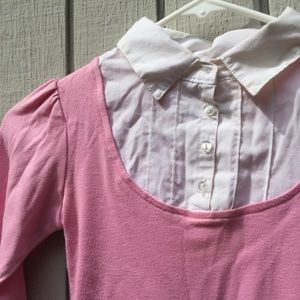 Shirts & Tops - Kids pink collared button down